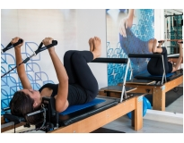 aula de pilates no Jockey Club