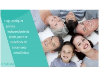 clínica de ortodontia na Vila Cecília Maria