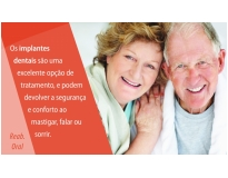 implante dentário na Vila Lucinda