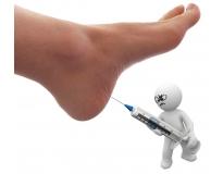 ortopedia para infiltração no pé na Vila Cecília Maria